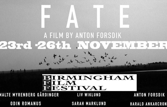 FATE film BIRMINGHAM FILM FESTIVAL